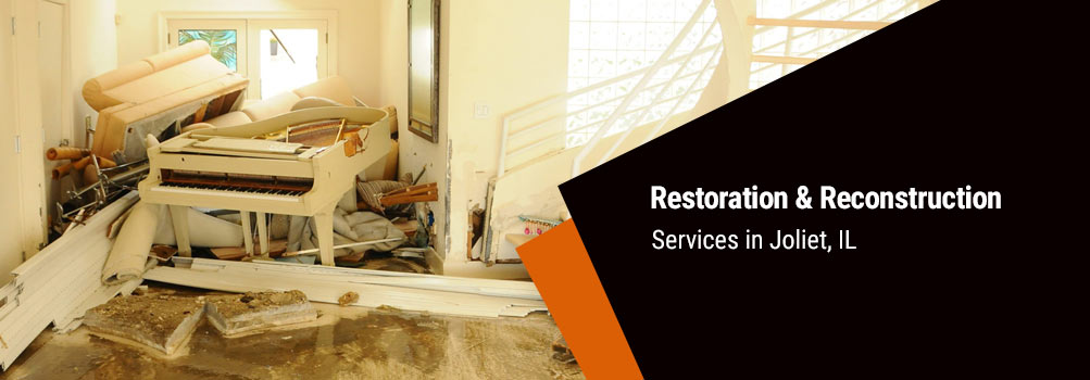restore and reconstruct your property in Joliet, IL