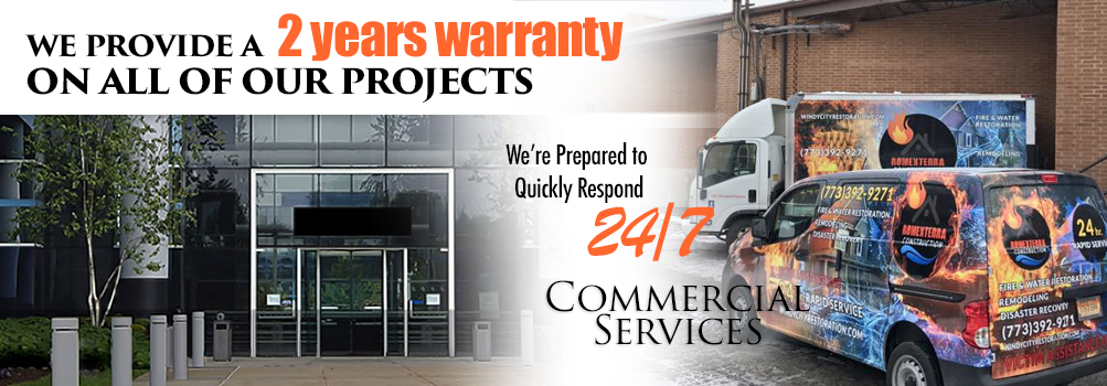 Commercial Restoration and Construction Services in the Greater Chicagoland City Area