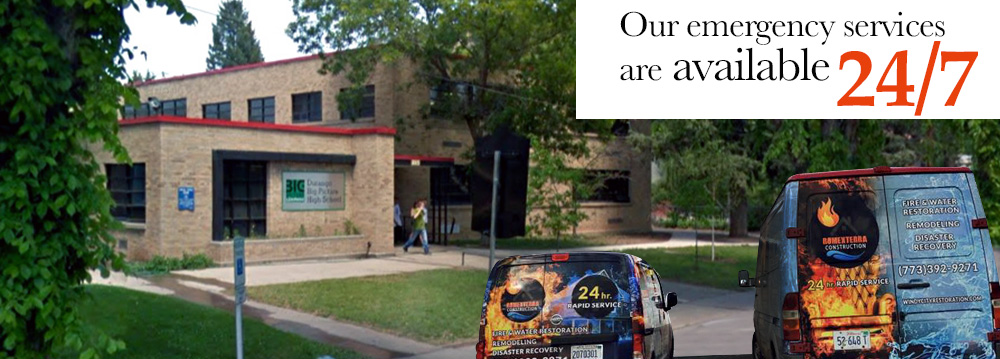 Restoration Services for Schools in the Greater Chicagoland Area