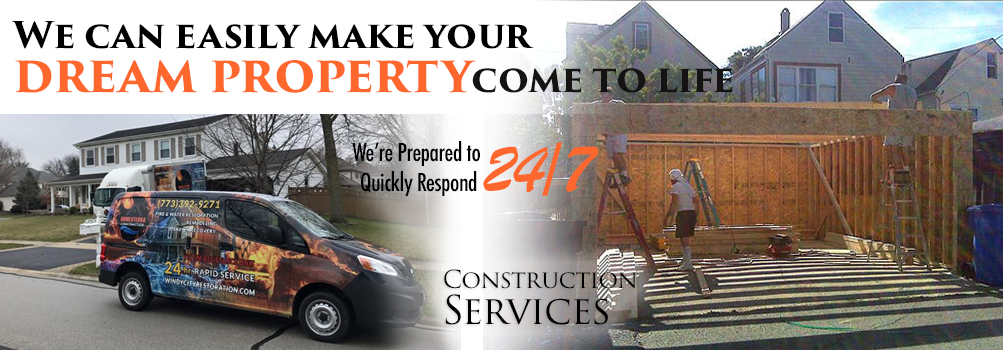 Construction Services in the Greater Chicagoland City Area