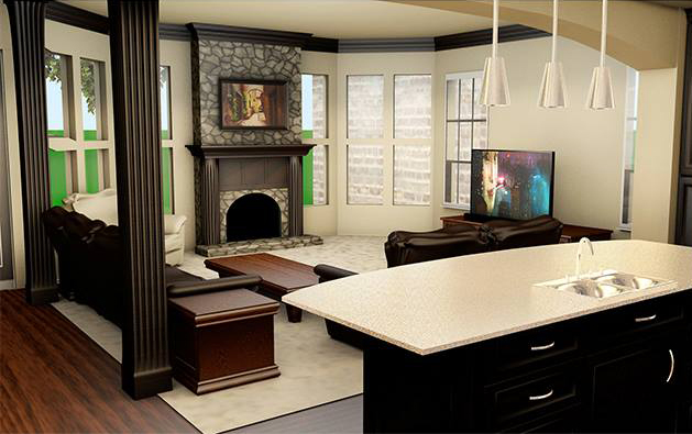 Living Room Remodeling in Greater Chicagoland