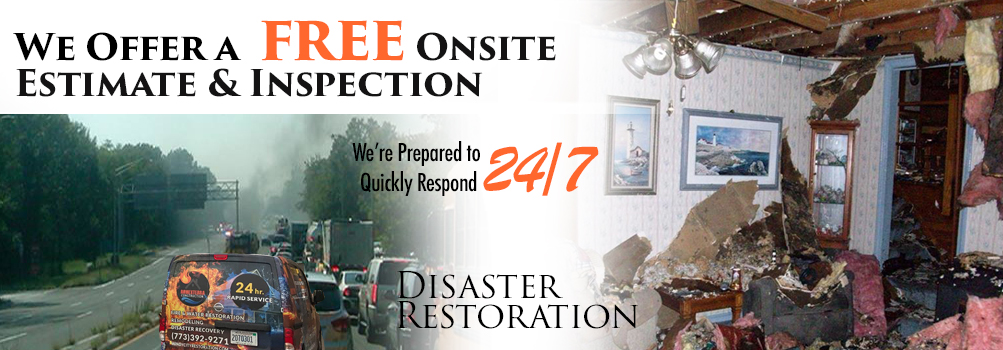 Storm Damage Restoration in Greater Chicagoland City Area