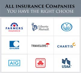 insurance company list for windycityrestoration